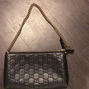 Gucci Signature mini chain bag